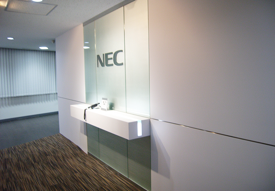 NECフィールディング様納入事例